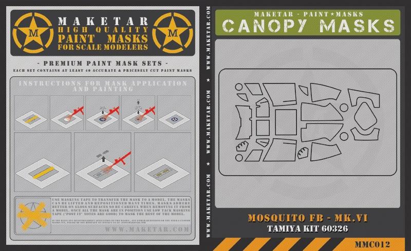 MMC012—Tamiya-Mosquito—Canopy