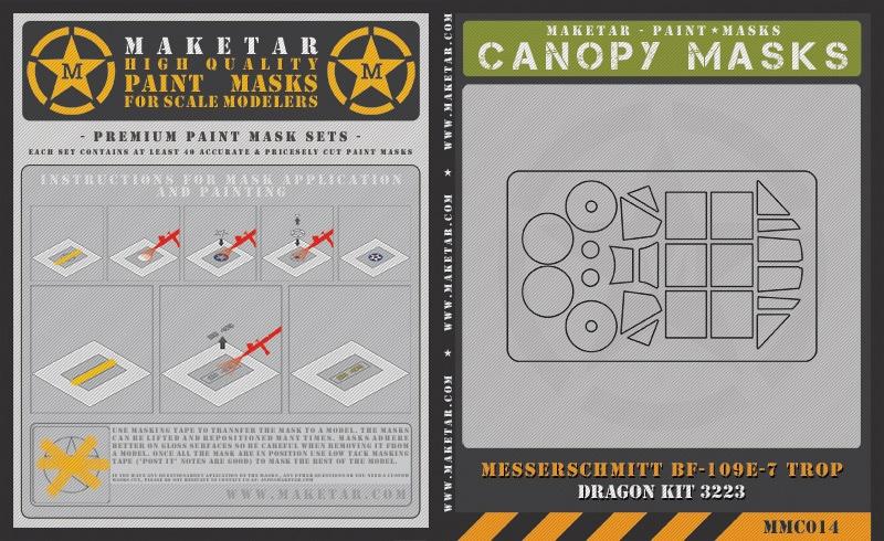 MMC014—Dragon-bf-109e-7—Canopy