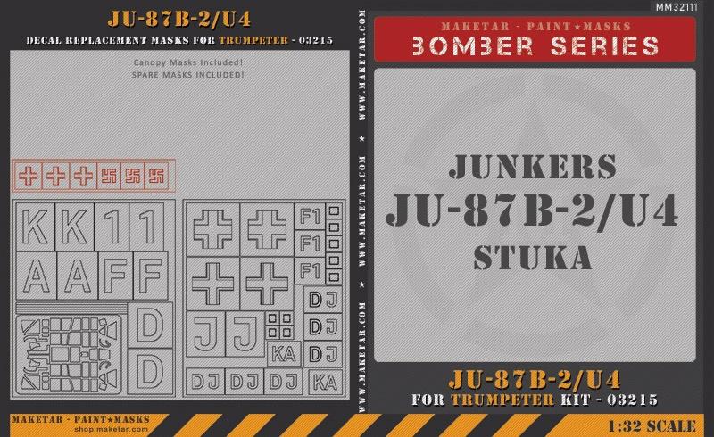 32111—Ju-87B-2-U4—Trumpeter