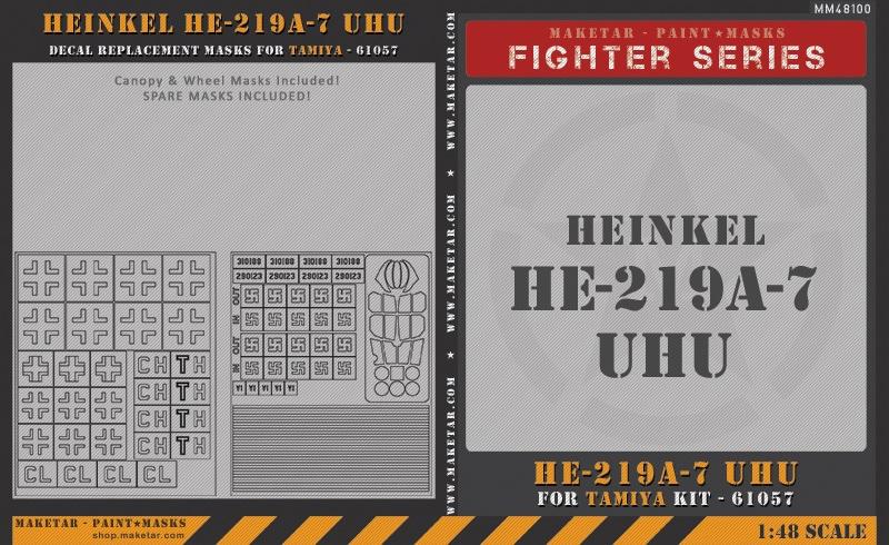 48100—He-219A-7-UHU—Tamiya