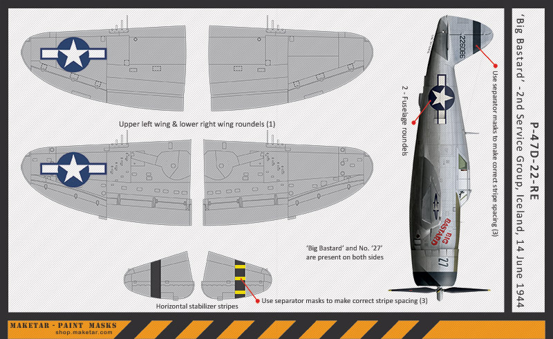 xx118---P-47D---Big-Bastard---INSTRUCTIONS